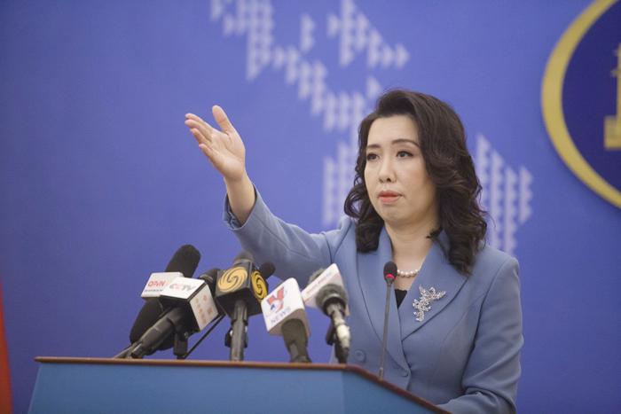 Người phát ngôn Bộ Ngoại giao Lê Thị Thu Hằng. (Ảnh: Bảo Chi)