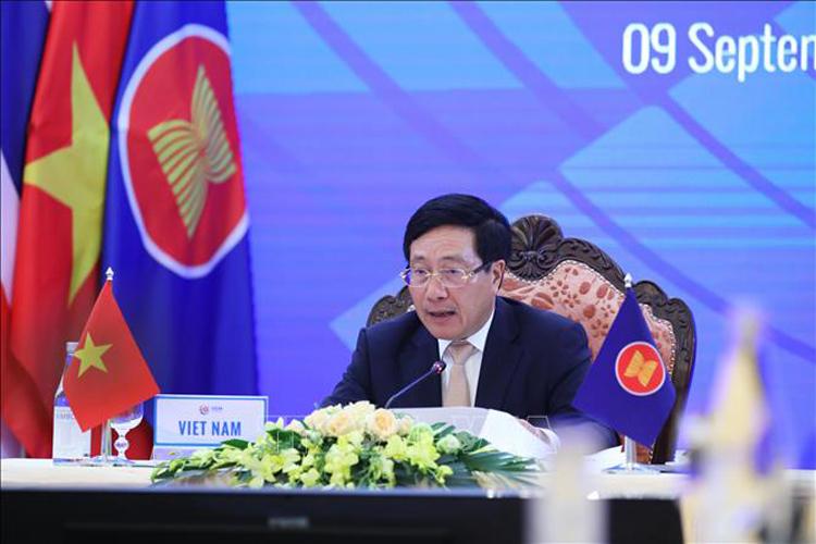 Phó Thủ tướng Chính phủ Phạm Bình Minh. (Ảnh: TTXVN)